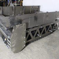 Гусеничная платформа_гусеничное шасси_гусеничный робот_гусеничный модуль_9