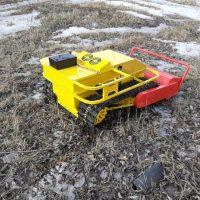 Робот косилка_агро робот_робот снегоуборщик_tracked robot_agro bot_11