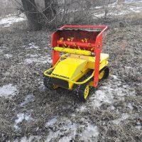 Робот косилка_агро робот_робот снегоуборщик_tracked robot_agro bot_4