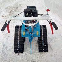 гусеничная приставка для мотоблока_снегоходная приставка_7